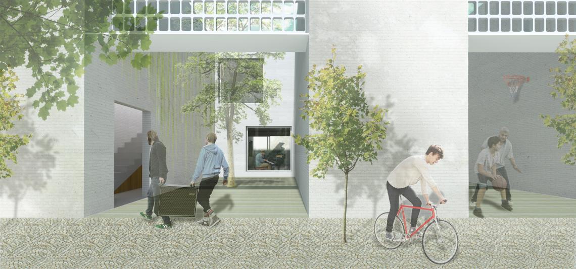 Iniesta Nowell Arquitectos - Vivienda social en Vejer de la Frontera