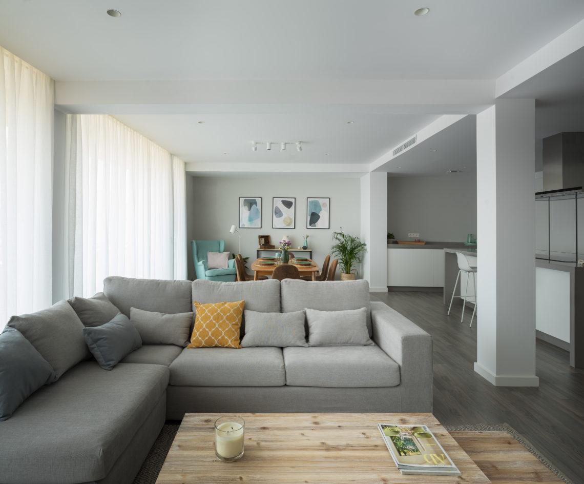 Iniesta Nowell Arquitectos - Reforma de un apartamento en Jerez de la Frontera