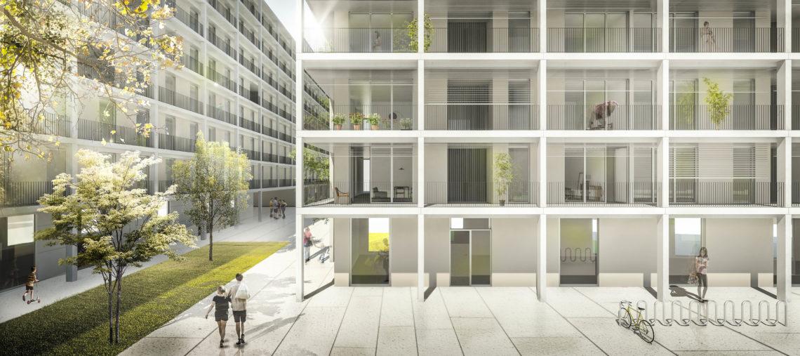 Iniesta Nowell Arquitectos - Viviendas en La Manzana Verde