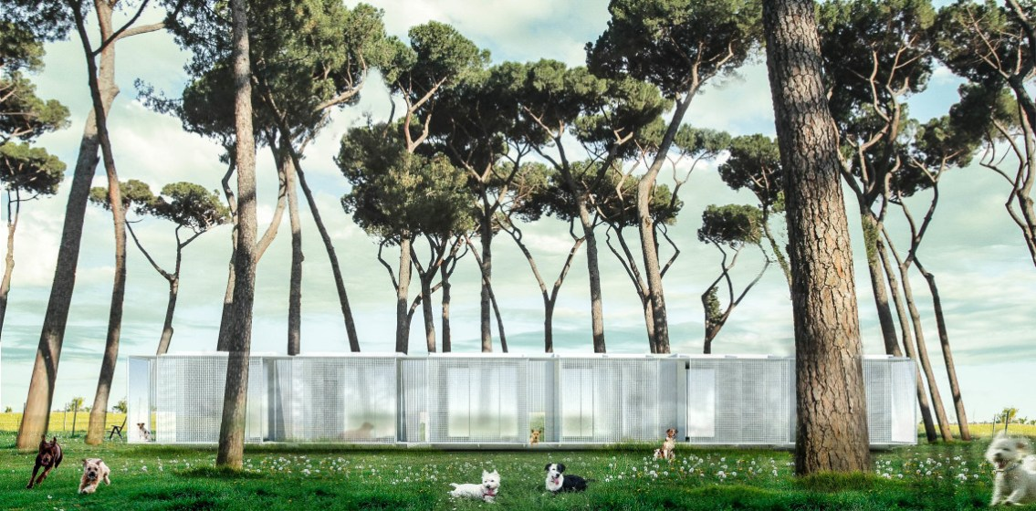 Iniesta Nowell Arquitectos - Módulo como refugio para mascotas