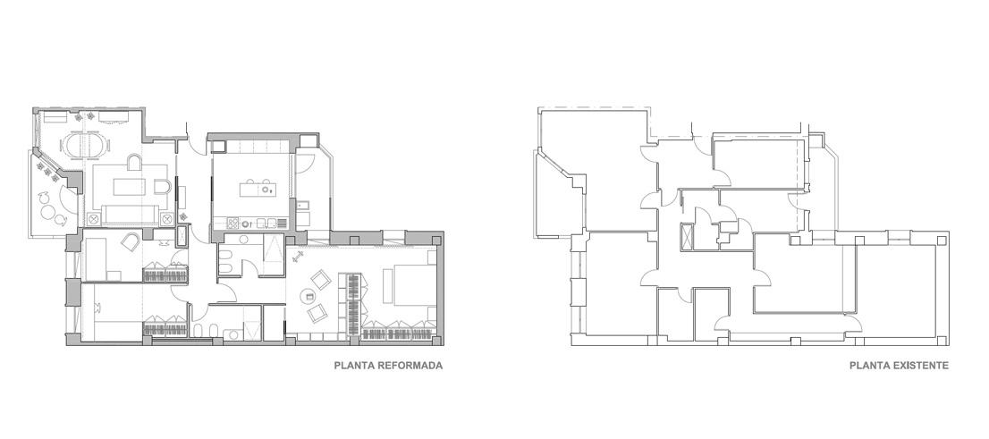 Iniesta Nowell Arquitectos - Reforma de una vivienda en Jerez de la Frontera
