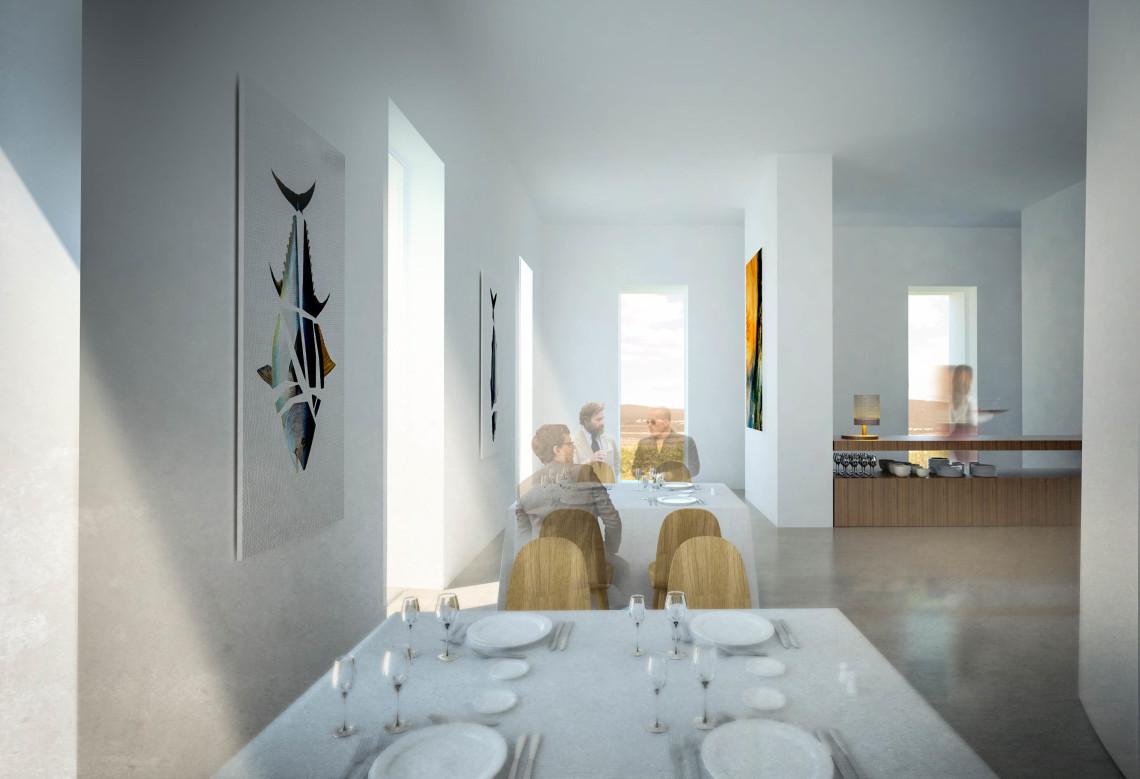 Iniesta Nowell Arquitectos - Rehabilitación de El Faro de Trafalgar